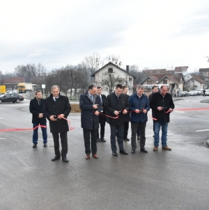 Otvorena dva kružna toka na regionalnom putnom pravcu Živinice – Kalesija