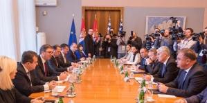Neslaganje u Predsjedništvu BiH isplivalo na press konferenciji u Beogradu