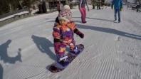 Talenat: Beba na snowboardingu prije svog prvog rođendana