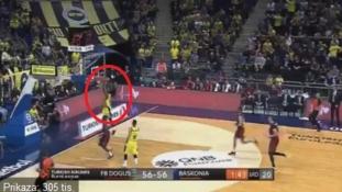 Trenutak užasa na utakmici Eurolige: Cijela dvorana zanijemila…