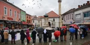 Mirni protesti Žena Srebrenice u Tuzli