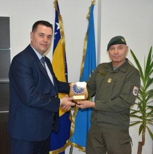 Komandant EUFOR-a posjetio Tuzlanski kanton
