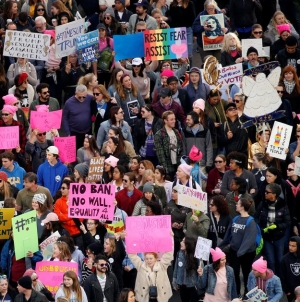 Marš žena: Protesti širom zemlje protiv američkog predsjednika Donalda Trumpa