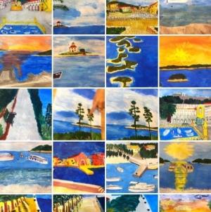 Samostalne izložbe radova kao rezultat edukativnih radionica