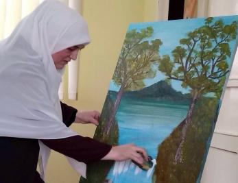 Kreativno-slikarska radionica profesorice  Mersade Nuruddine Agović