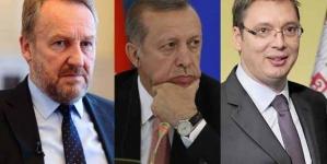 Istanbul: O čemu će razgovarati Erdoan, Izetbegović i Vučić?
