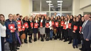 FINconsult: Svečana dodjela certifikata učesnicima 28. ciklusa edukacije za vođenje poslovnih knjiga
