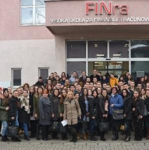 Veliki interes učenika srednjih škola za Visoku školu  FINra