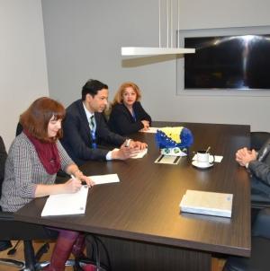 Predstavnici OSCE-a posjetili premijera Tuzlanskog kantona