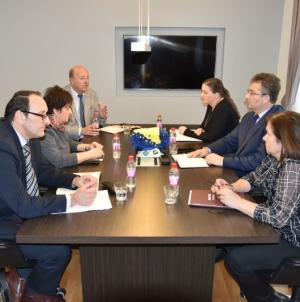 Sastanak / Vlada će osigurati uslove za nesmetan rad pravosudnih institucija