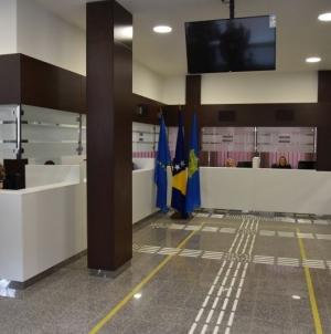 MUP TK: Moderno uređena šalter sala za izdavanje dokumenata