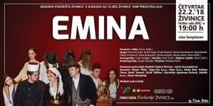 "Premijera predstave ""Emina"" na Velikoj sceni BKC-a Živinice"