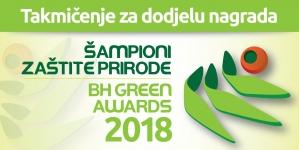 """""""Šampioni zaštite prirode"""":Poziv za nominovanje kandidata za učešće u javnom takmičenju za dodjelu nagrada"""