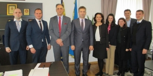 Delegacija mladih državnih službenika Zapadnog Balkana kod premijera Suljkanovića