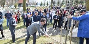 U UKC Tuzla zasađano drvo posvećeno darivateljima organa i tkiva za transplantaciju
