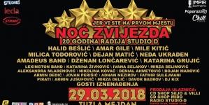 Spektakl godine: U Mejdan stiže preko 30 muzičkih zvijezda iz regiona!