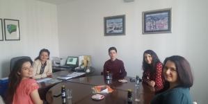 Prijem za pobjednički tim takmičenja mladih u poduzetništvu