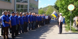 "Program obilježavanja 26. godišnjice formiranja II Manevarske čete policije  ""Partizan"" 1992"