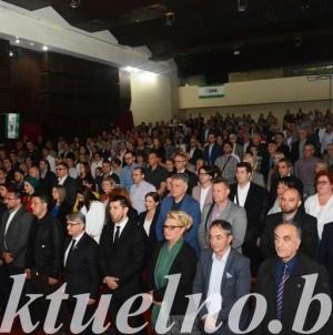 """U Tuzli održana tribina """" Odgovori SDA na aktuelna politička pitanja"""""""