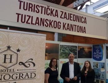 Vlada i Turistička zajednica Tuzlanskog kantona na sajmu turizma u Osijeku