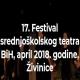BKC Živinice: Festival srednjoškolskog teatra BiH