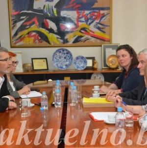 Susret gradonačelnika Tuzle i ambasadora Republike Francuske
