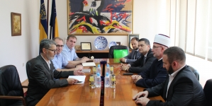 Gradonačelnik Tuzle upriličio prijem za delegaciju Muftijstva tuzlanskog