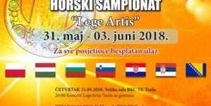 """Internacionalni horski šampionat """"Lege Artis"""" u Tuzli"""