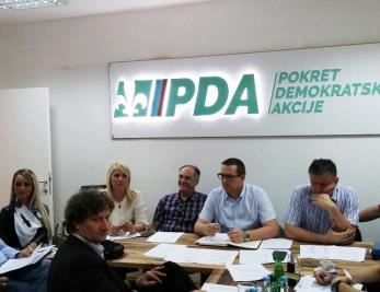 GO PDA: Za predsjednika Povjereništva izabran Senad Mehmedinović i 17 članova Izvršnog odbora
