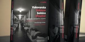 """Najava promocije knjige """"Vukovarska bolnica-svjetionik u povijesnim olujama hrvatskoga istoka"""" autora Ive Lučića"""