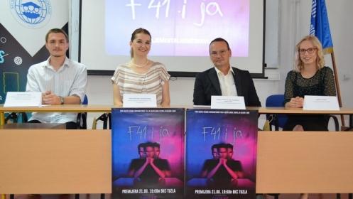 """Studenti IPI Akademije predstavili kratki igrano-dokumentarni film """"F41 i ja"""""""