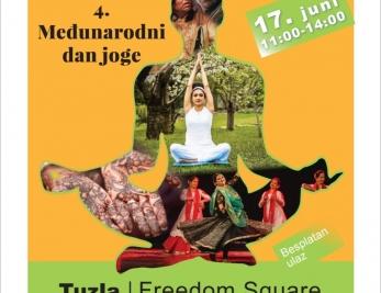 Obilježavanje Međunarodnog dana joge u Tuzli