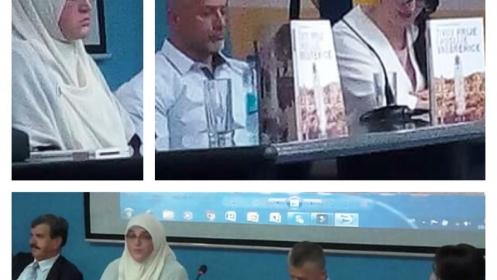 """Upriličena promocija romana """"Život prije i poslije Srebrenice"""" autorice Esnefe Smajlović Muhić"""
