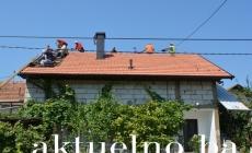 Borci Tuzle obezbijedili novi krov za porodičnu kuću svog saborca