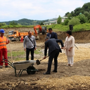 Početak izgradnje zgrade namijenjene za smještaj korisnika kolektivnog centra