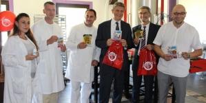 Ambasador Wigemark i gradonačelnik Imamović u posjeti tuzlanskim preduzećima