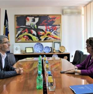 Gradonačelnik Imamović se susreo sa ambasadoricom SAD-a u BiH Maureen Cormack