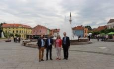 Susret gradonačelnika Imamovića i ambasadora Kraljevine Holandije, Nj.E. Raeinout Vosa