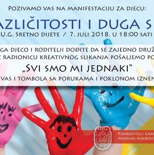 """Ljeto u Tuzli: Manifestacija """"Duga različitosti i duga sličnosti"""" na Sonom trgu u subotu"""