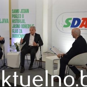 Džaferović u Tuzli: Jedino snažna SDA garantuje jaku državu Bosnu i Hercegovinu
