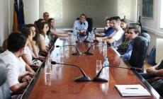 Gradonačelnik Tuzle organizovao prijem za Vijeće mladih