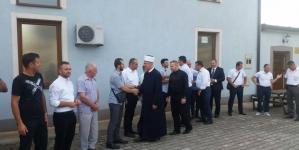 Muftija Fazlović prvi dan Kurbanskog bajrama proveo u Podrinju