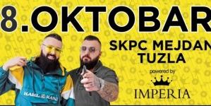 """Koncert """"Jala Brat i Buba Corelli sa gostima"""" u Tuzli 8. oktobra"""