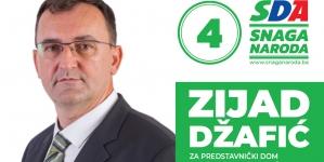 Predstavljamo kandidate: Prof. dr. Zijad Džafić, redni broj 4 .kandidat za Predstavnički dom Parlamentarne skupštine BiH