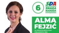 Predstavljamo kandidate: Alma Fejzić, kandidatkinja za Predstavnički dom Parlamenta FBiH