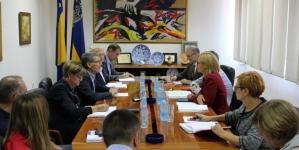 Gradonačelnik primio u radnu posjetu delegaciju Ambasade Švicarske u BiH