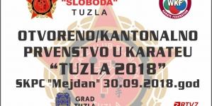 Najava: Otvoreno prvenstvo u karateu Tuzla 2018