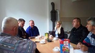 Ministrica Sandra Memić  posjetila povratničke mjesne zajednice na području Lukavaca
