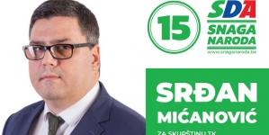 Predstavljamo kandidate: Srđan Mićanović, kandidat SDA za Skupštinu TK
