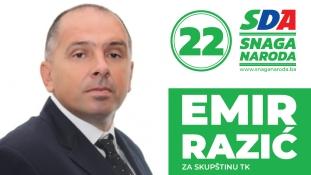 Predstavljamo kandidate: Emir Razić, kandidat SDA za Skupštinu TK